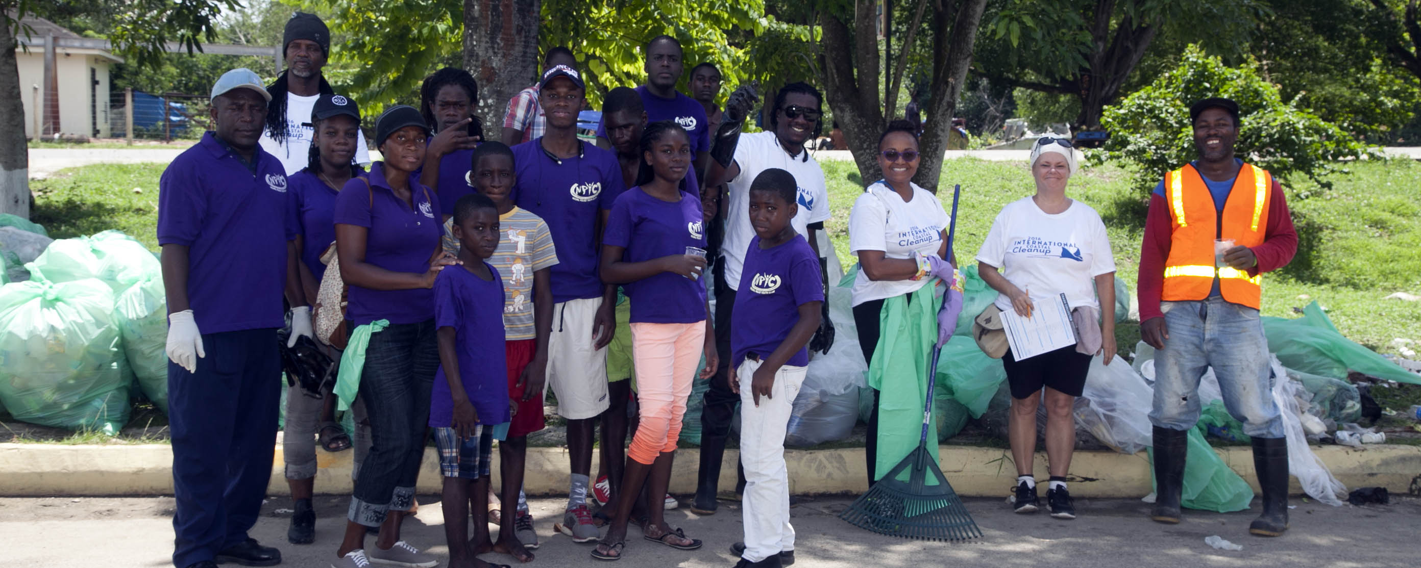 International Clean Up Day, Negril Jamaica