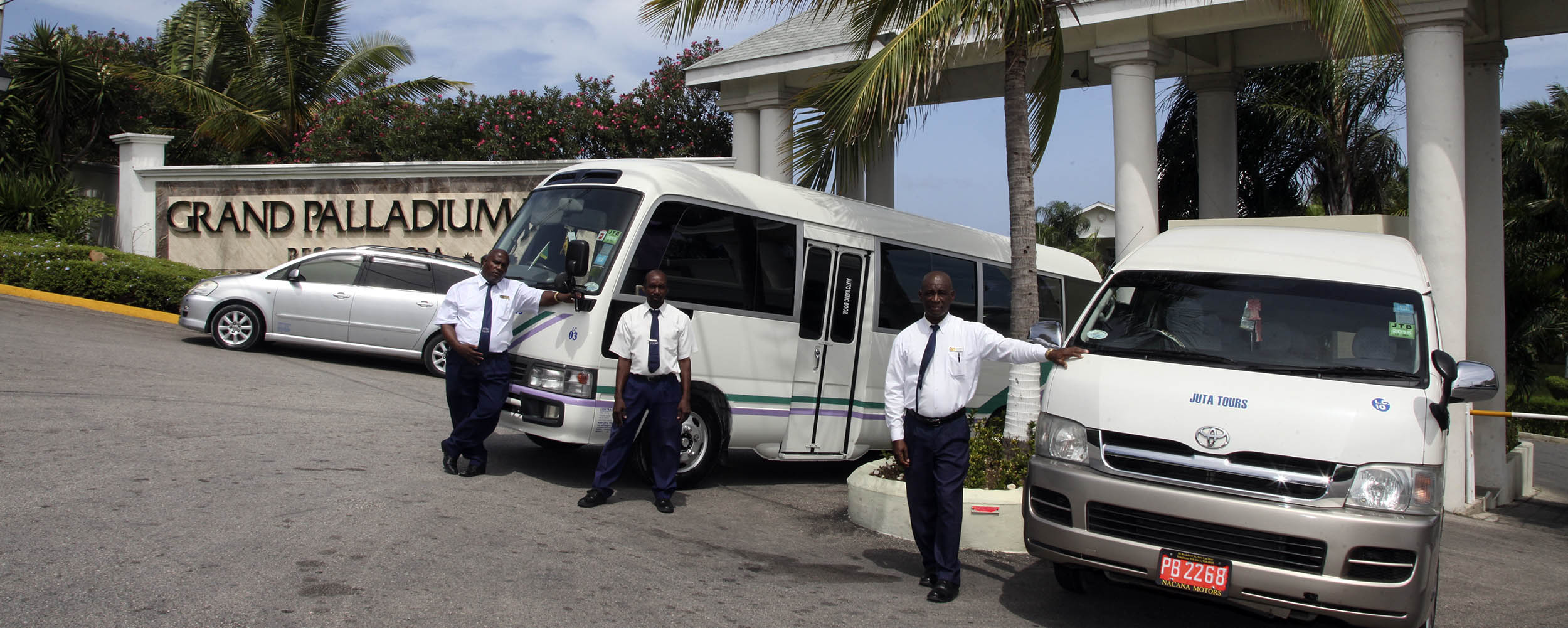 JUTA Taxi and Tours Jamaica @ Grand Paladium - Lucea Jamaica