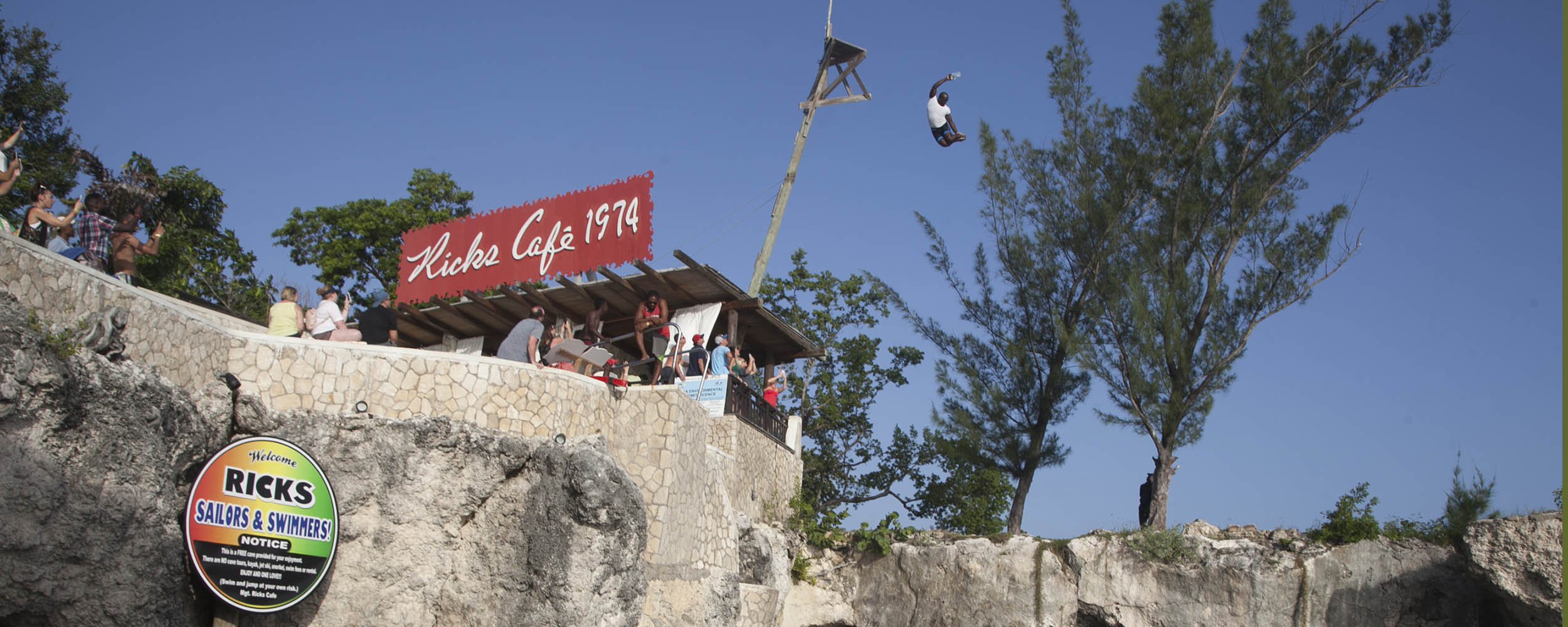 Rick's Cafe´, West End, Negril Jamaica